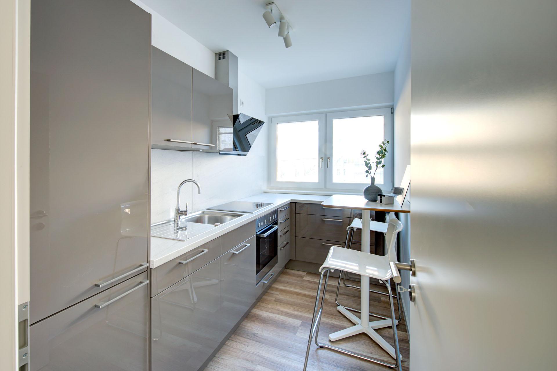 LYTZ - Lützowstrasse 37/39 - Blick in die Küche