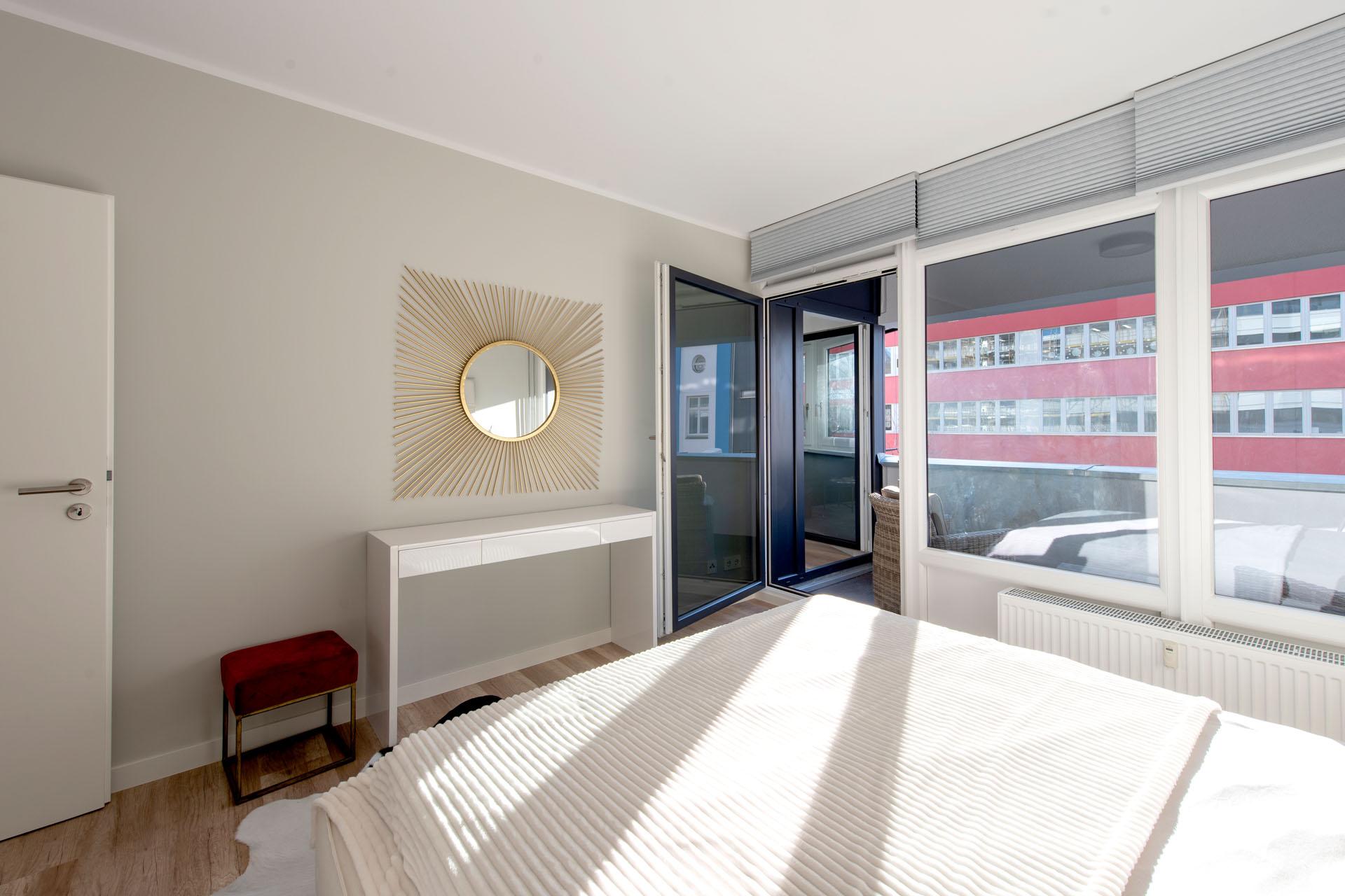 LYTZ - Lützowstrasse 37/39 - Schlafzimmer - Balkon