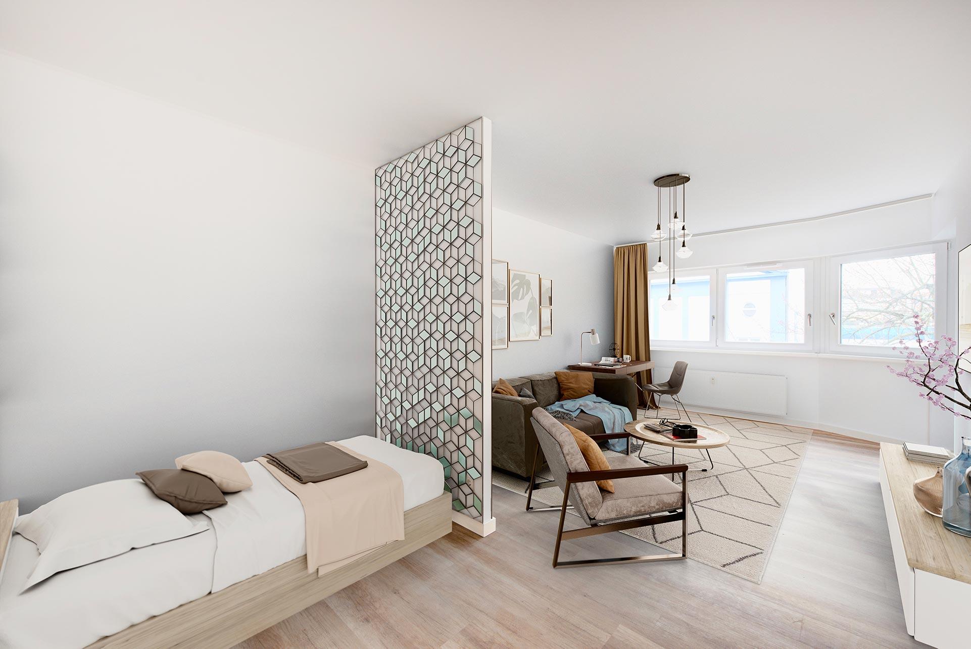 LYTZ - Lützowstrasse 37/39 - 1-Zimmer-Apartment